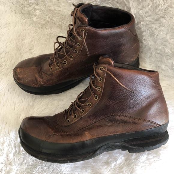 Ll Bean Mens Leather Hiking Boots Tek